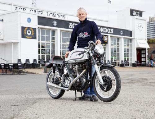 MOTORCYCLES OWNED BY ACE CAFE'S MARK WILSMORE STAR AT BONHAMS AUTUMN STAFFORD SALE