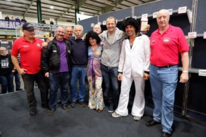 Terry Rymer at Stafford Bike Show