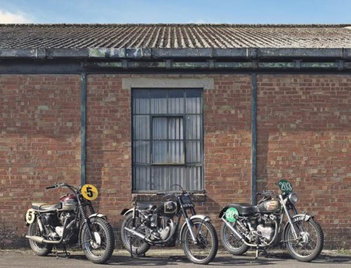MORE THAN 400 MOTORCYCLES TO BE OFFERED AT BONHAMS' TWO-DAY STAFFORD SALE