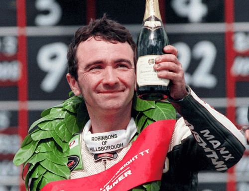 CHAMPIONSHIP WINNING ROBERT DUNLOP'S RARE RACER TO BE ON DISPLAY AT STAFFORD